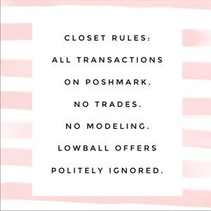 Accessories - Closet Rules